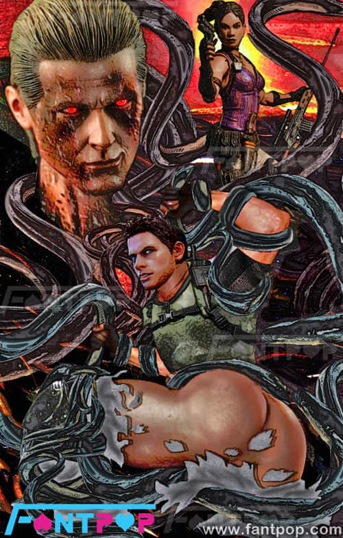 chris albert x wesker redfield Frost wyrm trials in tainted space