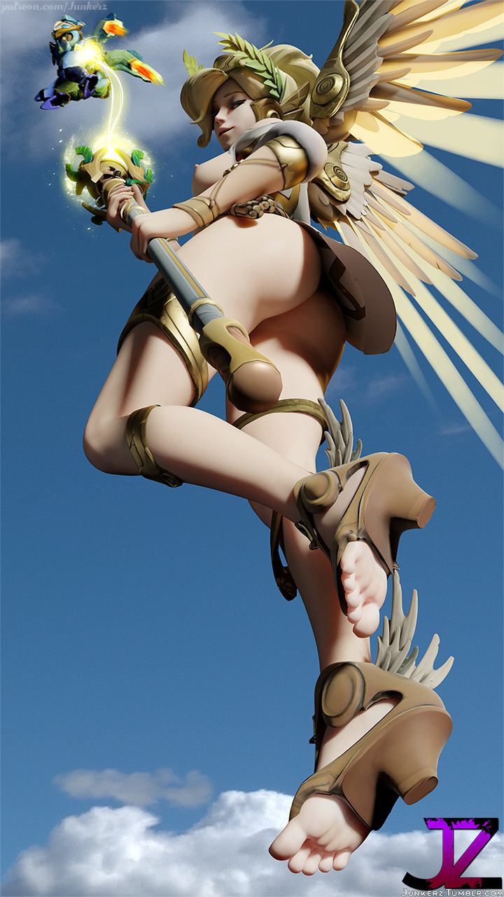 winged victory mercy Princess and conquest skeleton princess