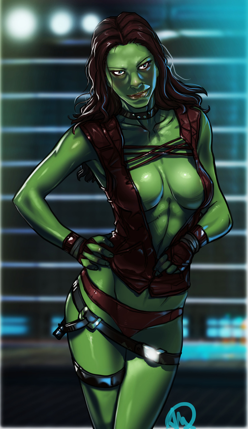 guardians the hentai galaxy of gamora Im making a callout post on my twitter.com