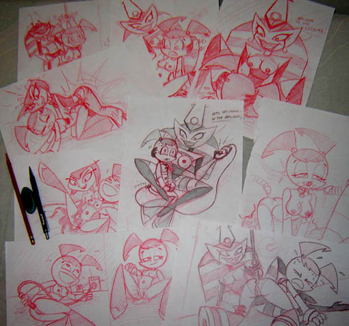 orc's friendly daily life a Mangle five nights at freddy