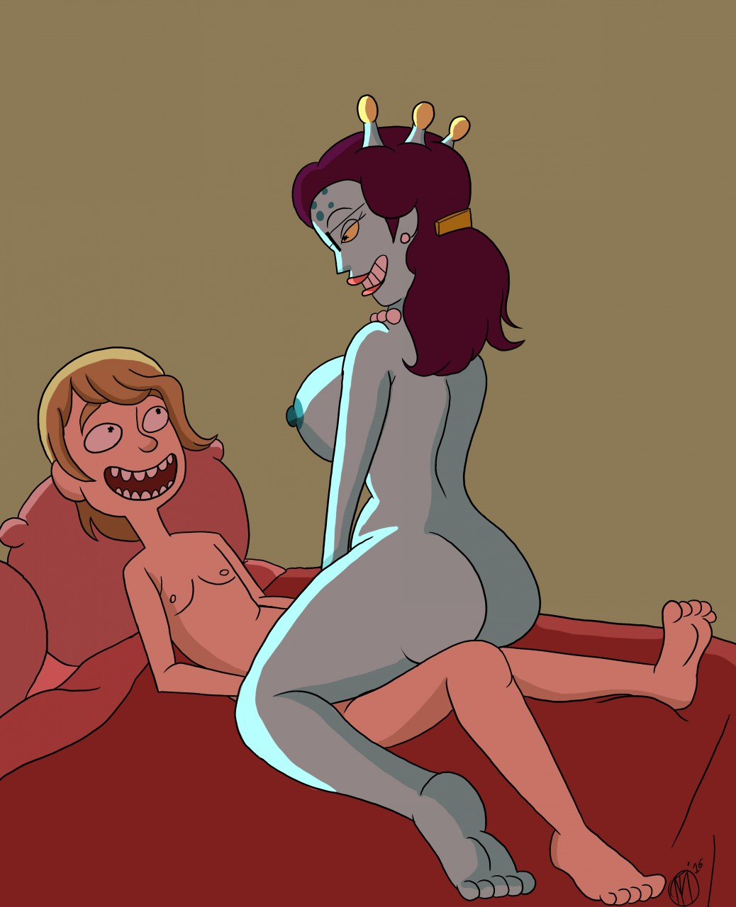morty rick naked and sexy summer Lenore cute little dead girl