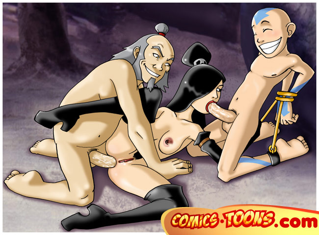 nude last the girls avatar airbender Panty and stocking kneesocks and scanty