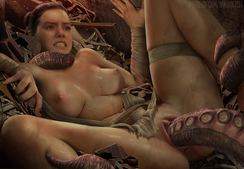 wars force rey naked the awakens star Breath of fire 2 hentai