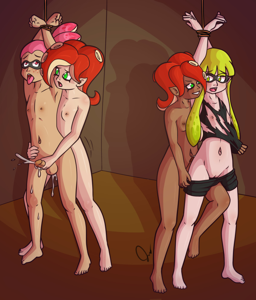 octoling splatoon x inkling hentai Scooby doo mystery incorporated sheriff
