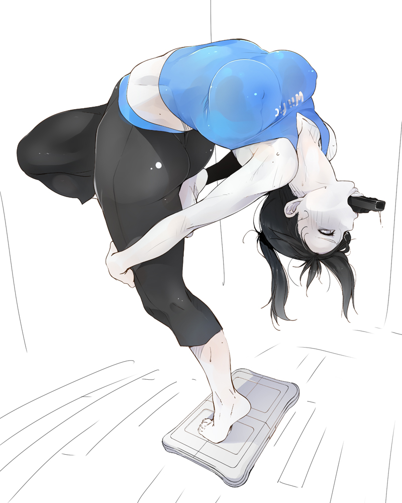 x wii fit trainer mac little Hey bby want sum fuk