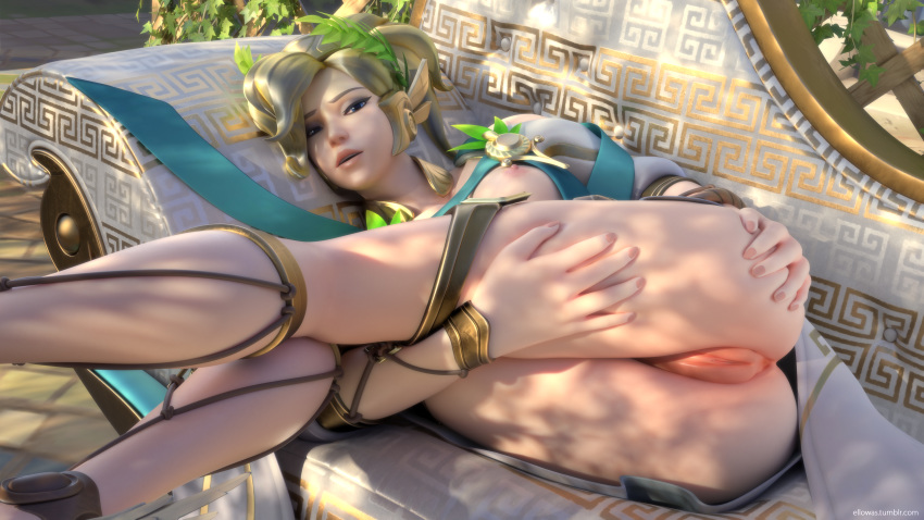 mercy victory winged Faye god of war 4